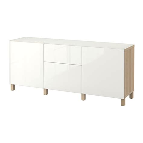 ikea besta storage combination with doors and drawers best 197 storage combination w doors drawers white stained