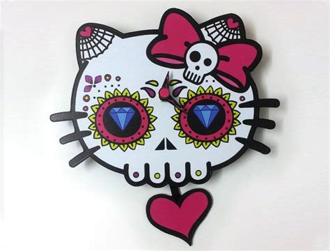 hello kitty couple tattoos day of the dead sugar skull dead skull silhouette