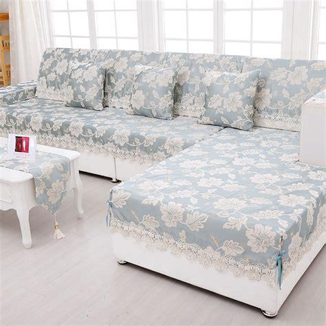 chenille fabric sofa cover aliexpress buy sofa towel jacquard lace sofa cover