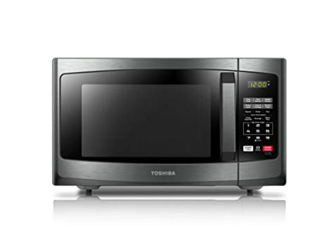 Microwave Toshiba toshiba em925a5a bs microwave oven with sound on and eco mode 0 9 cu ft 900w black