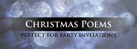 christmas party poems invitation poems i want a poem