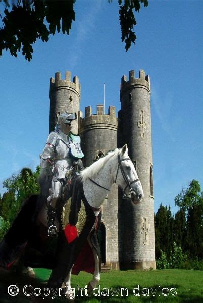 Medieval Knight Castle And Horse Knights Lords