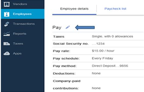 Payroll Section by Set Up A Pay Schedule For Employee