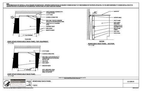 20 Base Cabinet Nih Standard Cad Details