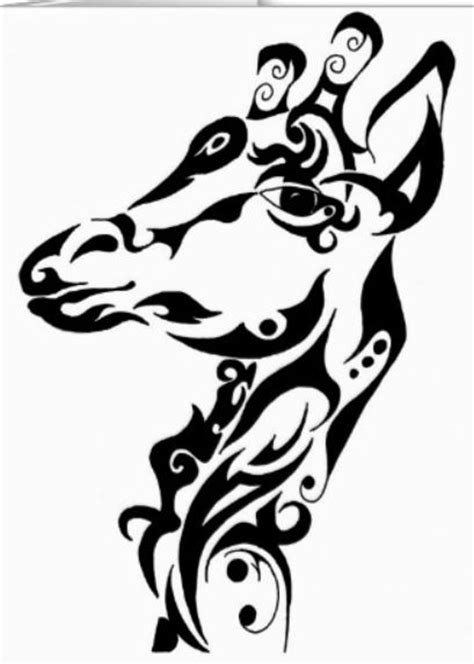 tribal pattern giraffe image gallery tribal giraffe