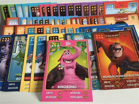 Pixar Le by Cartes Et Figurines Disney Pixar Auchan 224 233 Changer