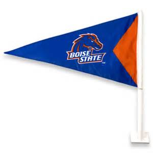 boise state colors boise state car flag blue pennant orange