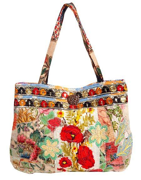Couture Linen Link All Nighter Bag by This Gal Has Other Amazing Sewn Items As Well Atelier