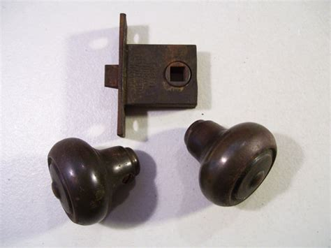 How To Assemble A Door Knob by 1920 S Sargent Door Knob Latch Assembly Antique