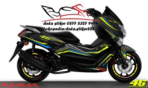 Striping N Max The Doctor 56 modifikasi stiker motor nmax modifikasi yamah nmax