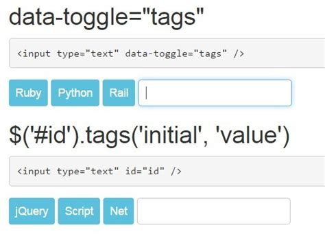 tutorial bootstrap tags input minimalist tags input plugin with jquery and bootstrap