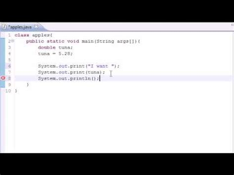 java tutorial youtube bucky java programming tutorial 5 variables youtube