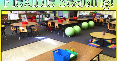 The Creative Colorful Classroom: Flexible Seating- 5 ... Examples Of Self Regulation In The Classroom