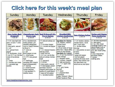 printable weight watchers recipes weight watcher friendly meal plan 19 with freestyle smart