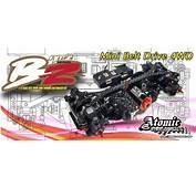 Next Build Atomic RC BZ 1/27 Scale Belt Drive Touring Car