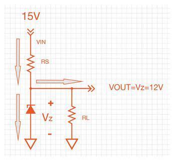 zener diode knee current zener diode regulator with transistor current buffer