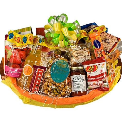 summer gourmet gift basket celebration gift baskets