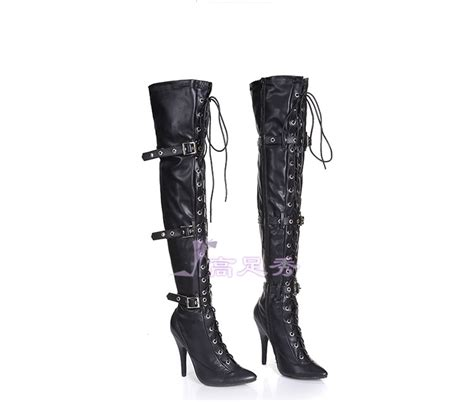 popular plus size thigh high boots buy cheap plus size