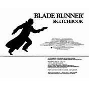 Blade Runner Sketchbook  Free Download
