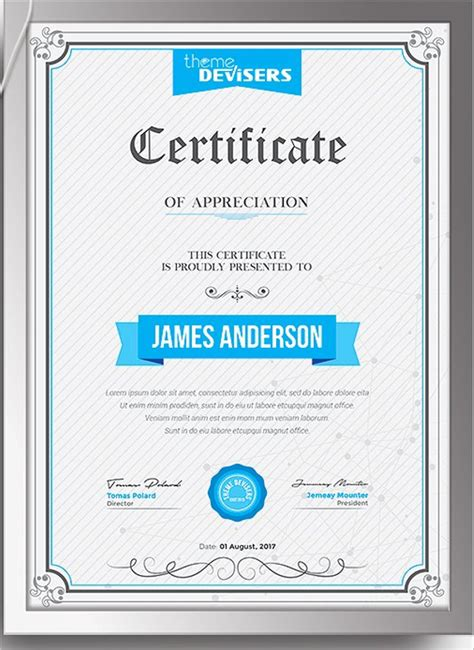 how to create a certificate template 30 certificate templates free word pdf ppt