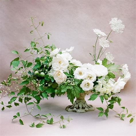 white centerpieces 25 best ideas about green centerpieces on