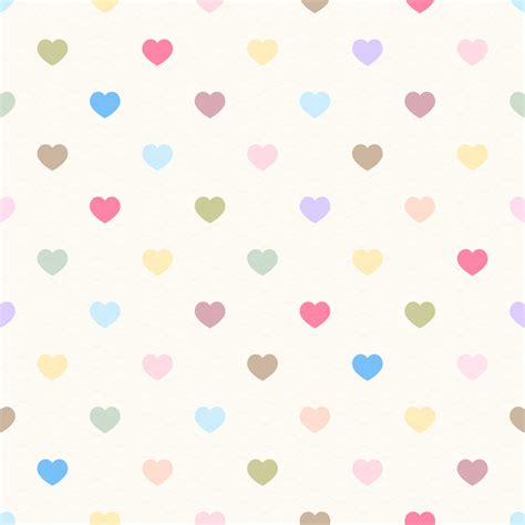 love heart pattern cute hearts background wallpapersafari