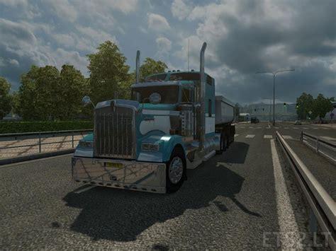 trucking companies with kenworth w900 kenworth ets 2 mods part 10