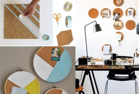 pinnwand kork selber machen wanddeko aus holz selber machen 32 kreative inspirationen