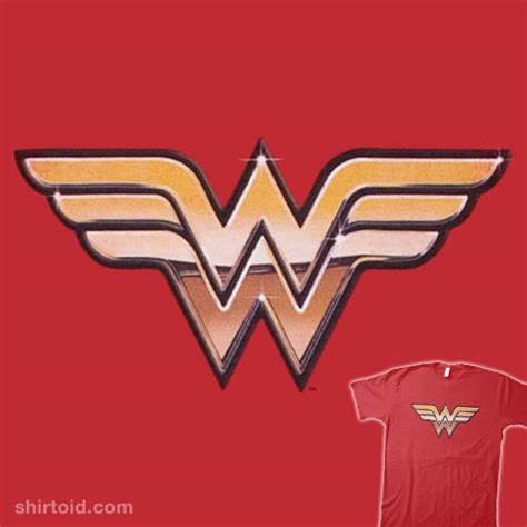 wonder woman logo shirtoid