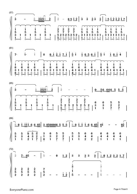 secret easy chords secret song mix numbered musical notation