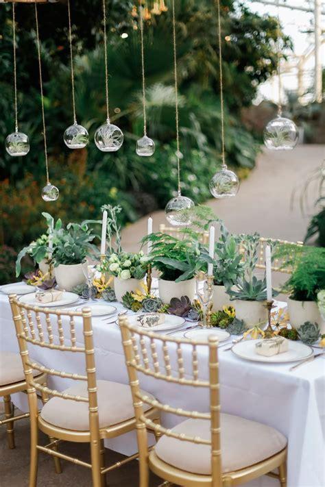 Greenery Wedding Decor Wisley Venue Hire Botanical Wedding