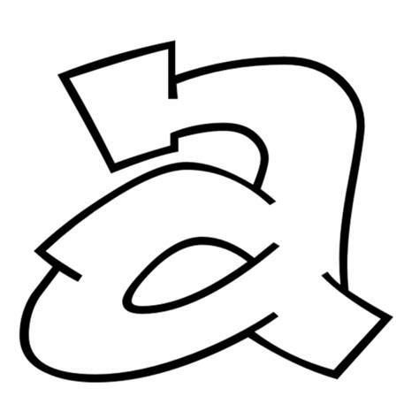 lettere da copiare disegno di lettera a da colorare per bambini