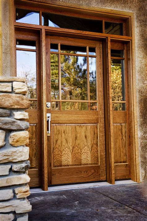 entry door glass cherry wood entry door heritage millwork inc ramsey m