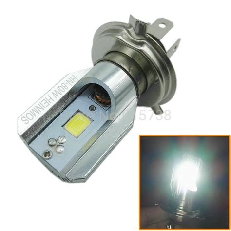 Luminos Led H4 Hs1 Hi Low White new led motorcycle headlight bulbs っ h4 h4 dc12v 6w 6w 800lm 6500k high low beam