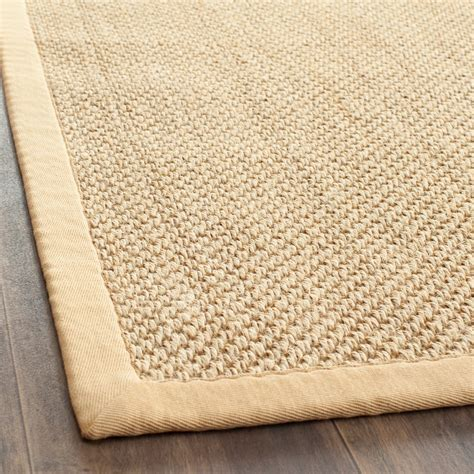 fiber rugs safavieh fiber maize wheat sisal area rugs nf443a ebay