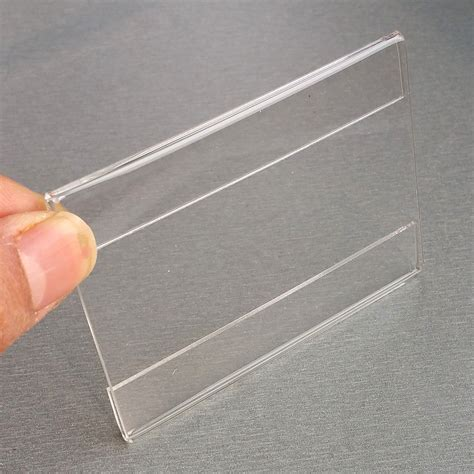Acrylic 1 Cm 9x7cm acrylic t1 2mm plastic sign price tag label paper promotion name card display holders