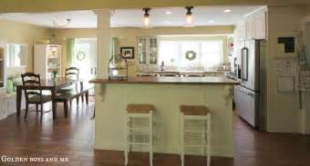 Kitchen Island Legs Lowes - golden boys and me summer home tour