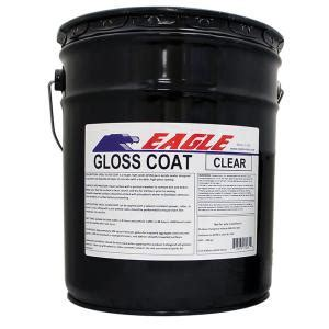 Eagle 5 gal. Gloss Coat Clear Wet Look Solvent Based