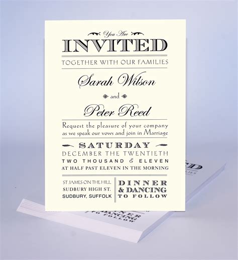 wedding invitation templates uk wedding invitation wording uk informal invitation ideas