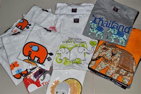 Dunia Oleh2 Souvenir Kaos Thailand azraku oleh oleh bangkok