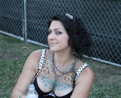 geez whatta shocker tattooed retro princess danielle