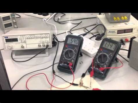 inductance measurement with oscilloscope impedance and frequency oscilloscope demo doovi