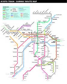 Kyoto Subway Map map of japan kyoto images