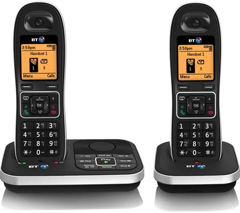 Bt Phone Lookup Uk Bt 7610 Cordless Phone With Answering Machine Times