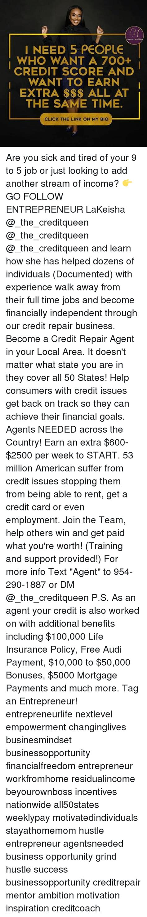 Link Time Fabsugar Want Need 50 by I Need 5 Who Want A 700 Credit Score And I Want To
