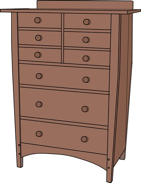 Bureau Dresser Difference by Plans To Build Stickley Dresser Plans Blueprints Freeplans