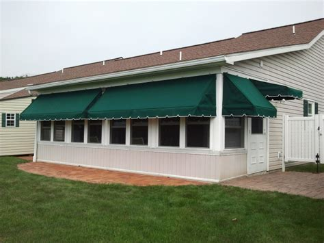 Awnings Pa by Residential Porch Awnings Gallery Kreider S Canvas