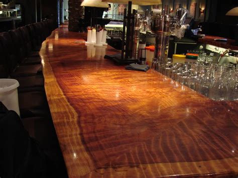 Thick Clear Coat Bar Tops by Epoxy Resin Clear Wood Working 4 Coating Commercial Bartop