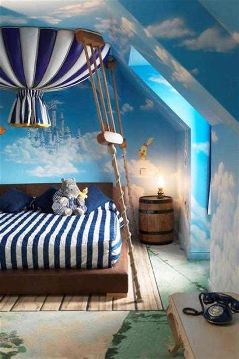 air balloon themed child s bedroom design ideas pictures
