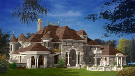 Chateau Style Homes Sitting Rooms In Master Bedrooms Chateau Style Homes Castle Style Home Interior